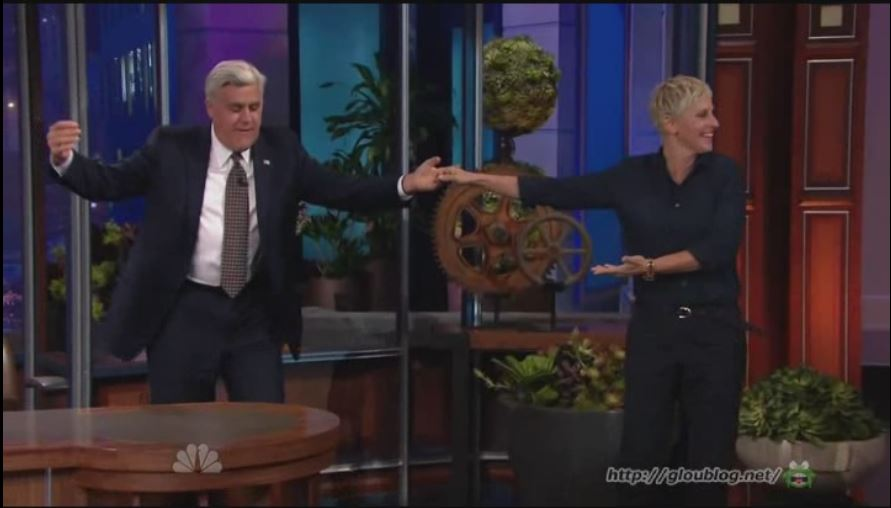 Ellen On The Tonight Show With Jay Leno Sept 06 2012