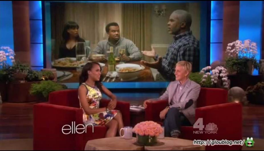 Kerry Washington Interview And Game May 13 2013