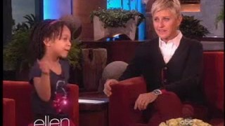 6-Year-Old Inspirational Speaker Kaliah King Interview Sept 20 2012