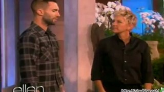 Adam Levine Interview And Game Apr 26 2012