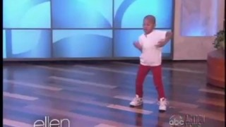 Adorable Kid Dancer Meets His Hero Jun 04 2013