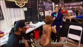 Amy at the Body Art Convention Jan 21 2013