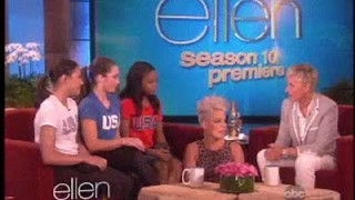 An Olympic Surprise For Pink Sept 10 2012