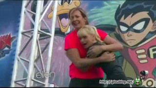 Anna Faris & Allison Janney Ninja Warriors Sept 12 2014