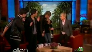 """Big Time Rush"" Meets Their Biggest Fan Jan 16 2012"