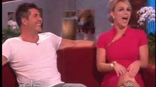 Britney Spears And Simon Cowell Interview Sept 11 2012