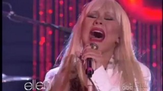 Christina Aguilera and Blake Shelton Performance Dec 07 2012