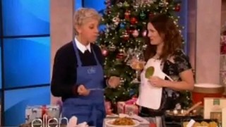 Drew Barrymore Is Cooking Dec 06 2012