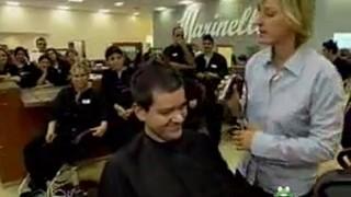 Ellen At A Beauty School Sept 30 2005