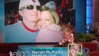 Ellen Calls a Cardinals Fan Oct 25 2011