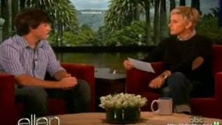 Ellen Has Got A Surprise For Jake Foushee Apr 25 2012