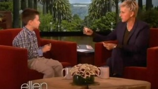 Ellen Learns Dinosaurs From 8-Year-Old Harrison Sept 27 2012