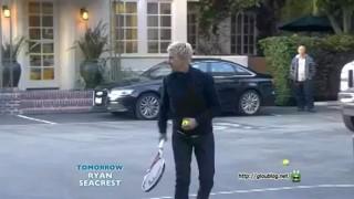 Ellen Plays Tennis With Sloane Stephens Jan 30 2013