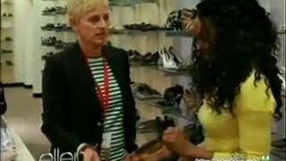 Ellen Returns To Her First Job Mar 19 2012