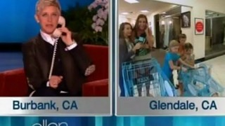Ellen Surprises A Viewer In Need At Jcpenney Nov 06 2012