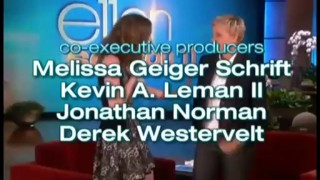 Ellie Kemper And Ellen Play Heads Up Sep 23 2013
