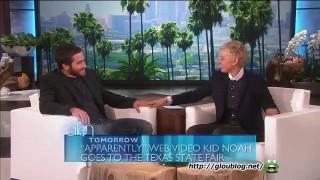 Jake Gyllenhaal Interview Oct 29 2014