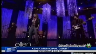 Jennifer Nettles Performance Jan 27 2014