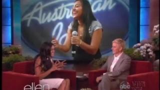 Jessica Mauboy Interview Apr 18 2013