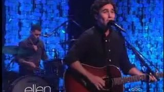 Joshua Radin Performance Oct 10 2012