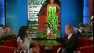 Kerry Washington Interview Nov 14 2013
