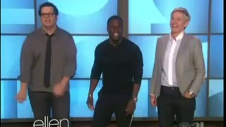 Kevin Hart & Josh Gad Dance Off Sept 18 2014