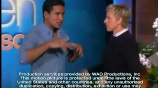 Mario Lopez And Ellen's Fashion Flashback Sep 27 2013