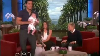 Mario Lopez Introduces His New Son Nov 22 2013