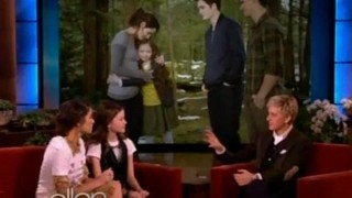 Nikki Reed and Mackenzie Foy Interview Nov 06 2012