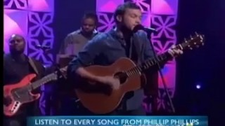 Phillip Phillips Performance Apr 22 2014
