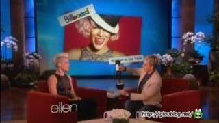 P!nk Interview And Game Sep 19 2013