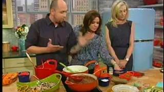Portia de Rossi And Chef Roberto Martin Rachael Ray Show May 17 2012