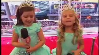 Sophia Grace And Rosie At The VMA Sept 11 2012