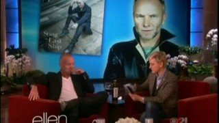 Sting Interview And Performance Nov 06 2013