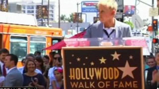 Walk Of Fame Star Ceremony Sept 04 2012
