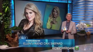 Meghan Trainor Performance Jan 14 2015