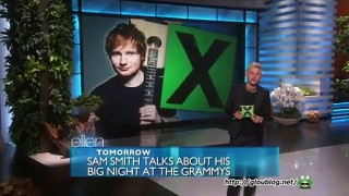 Ed Sheeran Performance Feb 09 2015