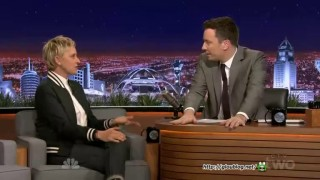 Ellen DeGeneres Interview And Game Jimmy Fallon Feb 03 2015