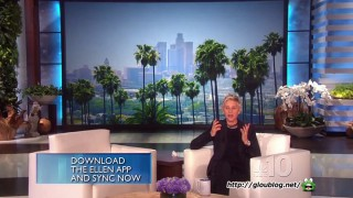 Ellen's Slot Machines in Vegas Feb 09 2015