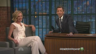 Portia de Rossi Interview Seth Meyers Feb 12 2015