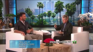 Ricky Martin Interview Feb 11 2015