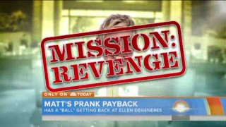 Matt Lauer Gets The Ultimate Revenge On Ellen