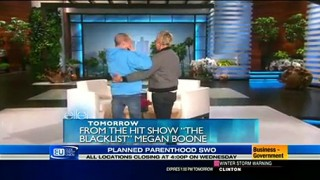 Ellen Meets Courtney Wagner Mar 04 2015