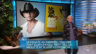 Tim McGraw Performance Apr 28 2015
