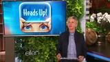 Ellen Monologue & Dance June 04 2015