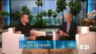 Matt Damon Interview Part 2 Sept 29 2015