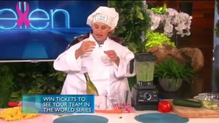 Bradley Cooper & Ellen Get Cooking Oct 19 2015
