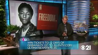 Pharrell Williams Performance Oct 12 2015
