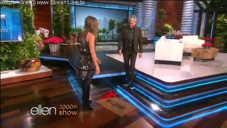 Jennifer Aniston & Justin Timberlake Surprise Ellen Nov 12 2015