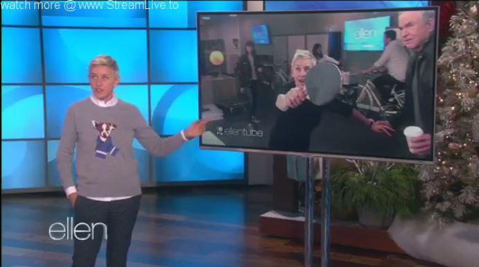 Ellen Monologue & Dance November 17 2016